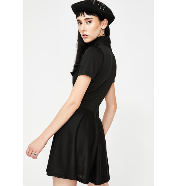 Vera's Eyecandy Darkness Babydoll Dress