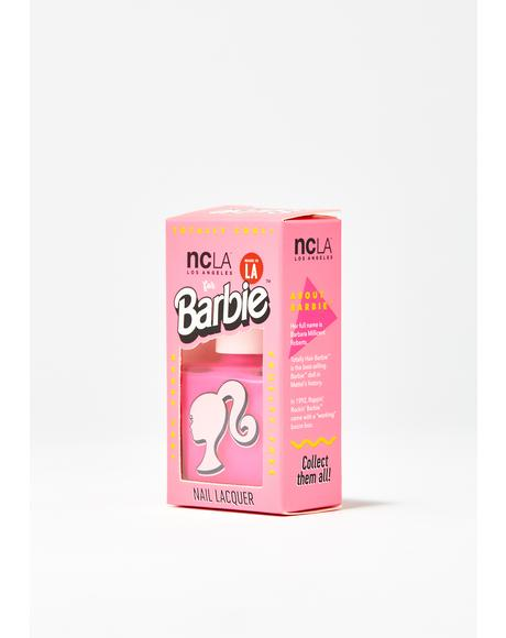 Barbie Pink Nail Lacquer