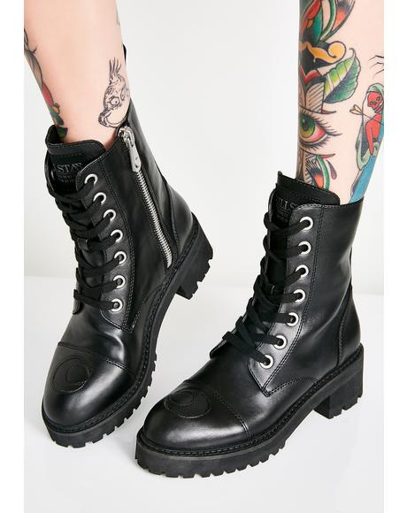 Not Phased Combat Boots