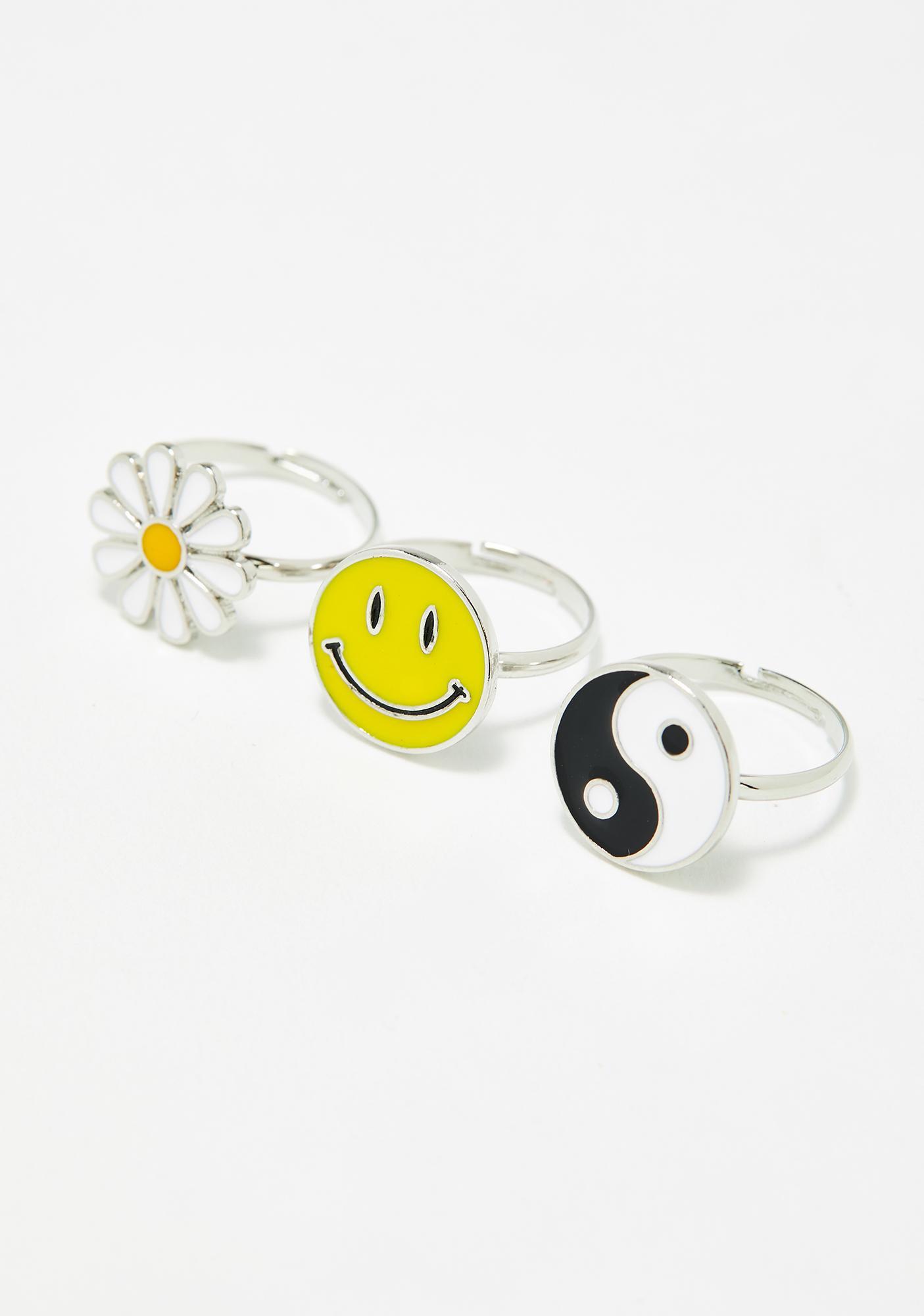 Sunshine Tripster Ring Set
