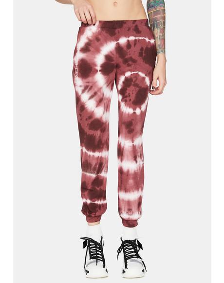 New Fantasies Tie Dye Sweatpants
