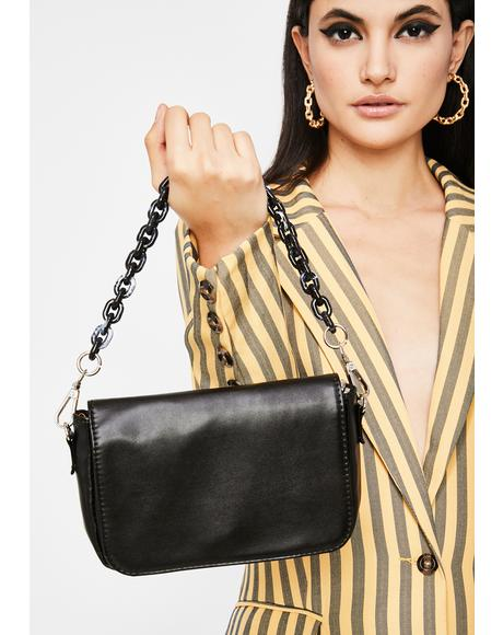 Link Me Chain Crossbody