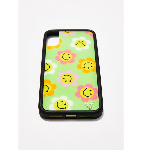 Wildflower Happy Flowers iPhone Case