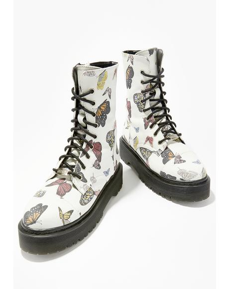 Lady Monarch Combat Boots