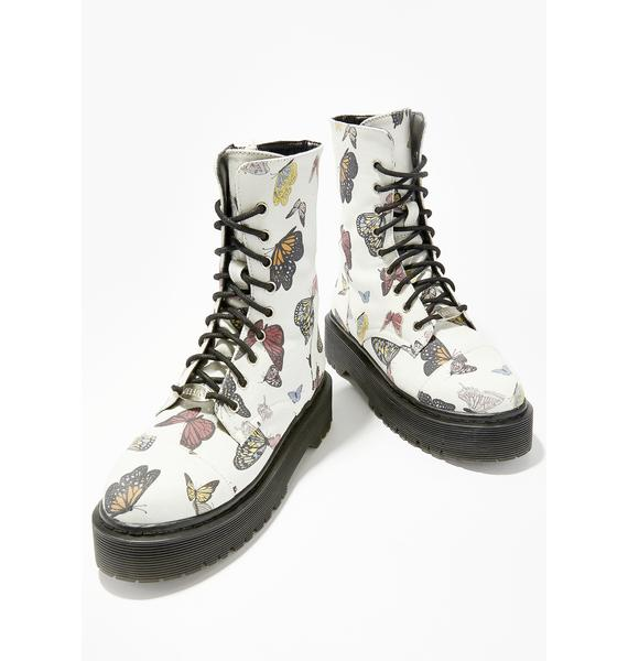 dELiA*s by Dolls Kill Lady Monarch Combat Boots