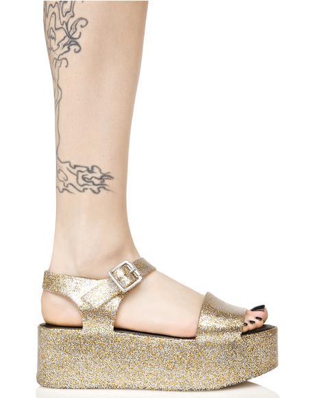 Glitter Mar Sandals
