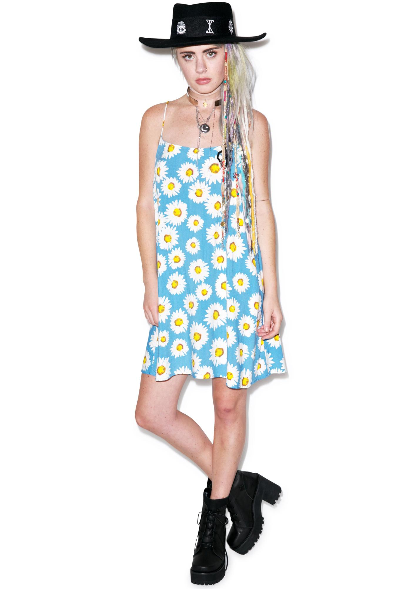 Motel Wild Daisy Slip Dress