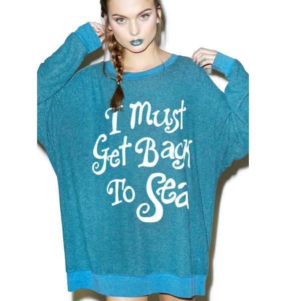 Wildfox Couture Must Get Back To Sea Roadtrip Sweater