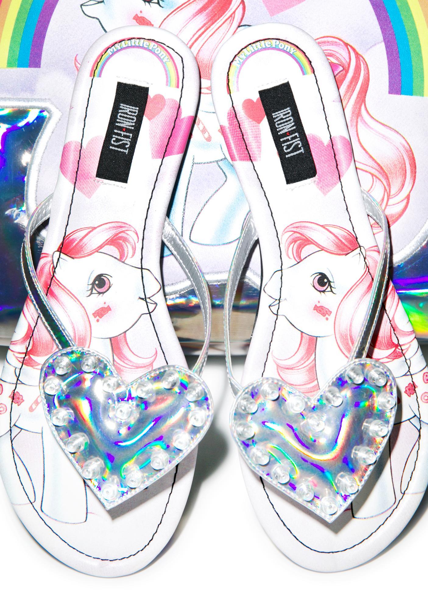 Iron Fist My Little Pony Sandals