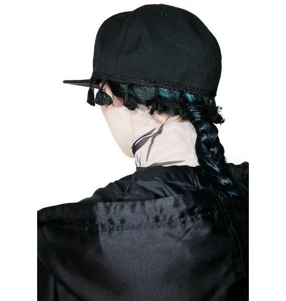 Black Scale Tassel New Era Cap