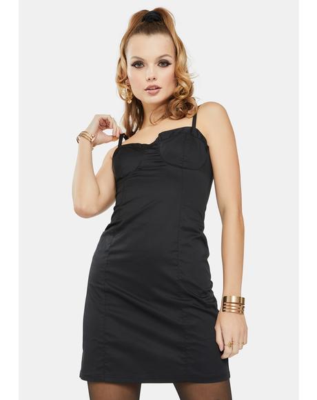 Black Tank Mini Dress