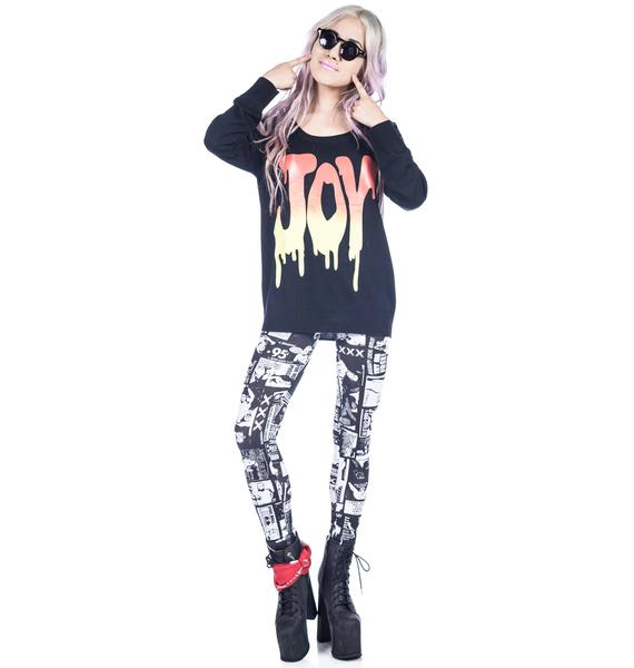 Joyrich Joy Dripped Sweater