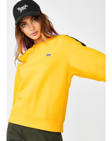 Apex Crew Neck Pullover