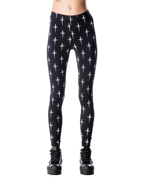 Desperately Seeking Daggers Leggings