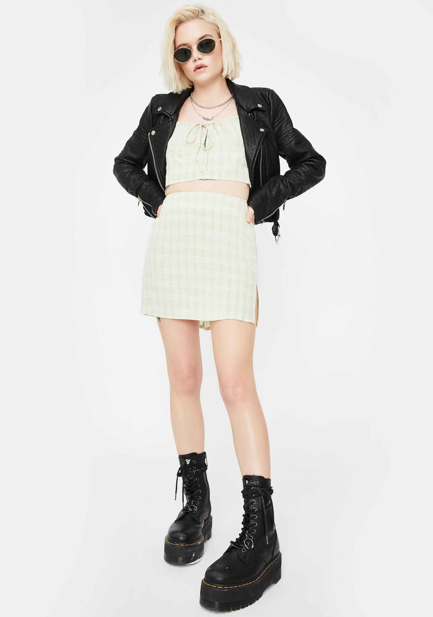 Motel Sage Sheny Mini Skirt