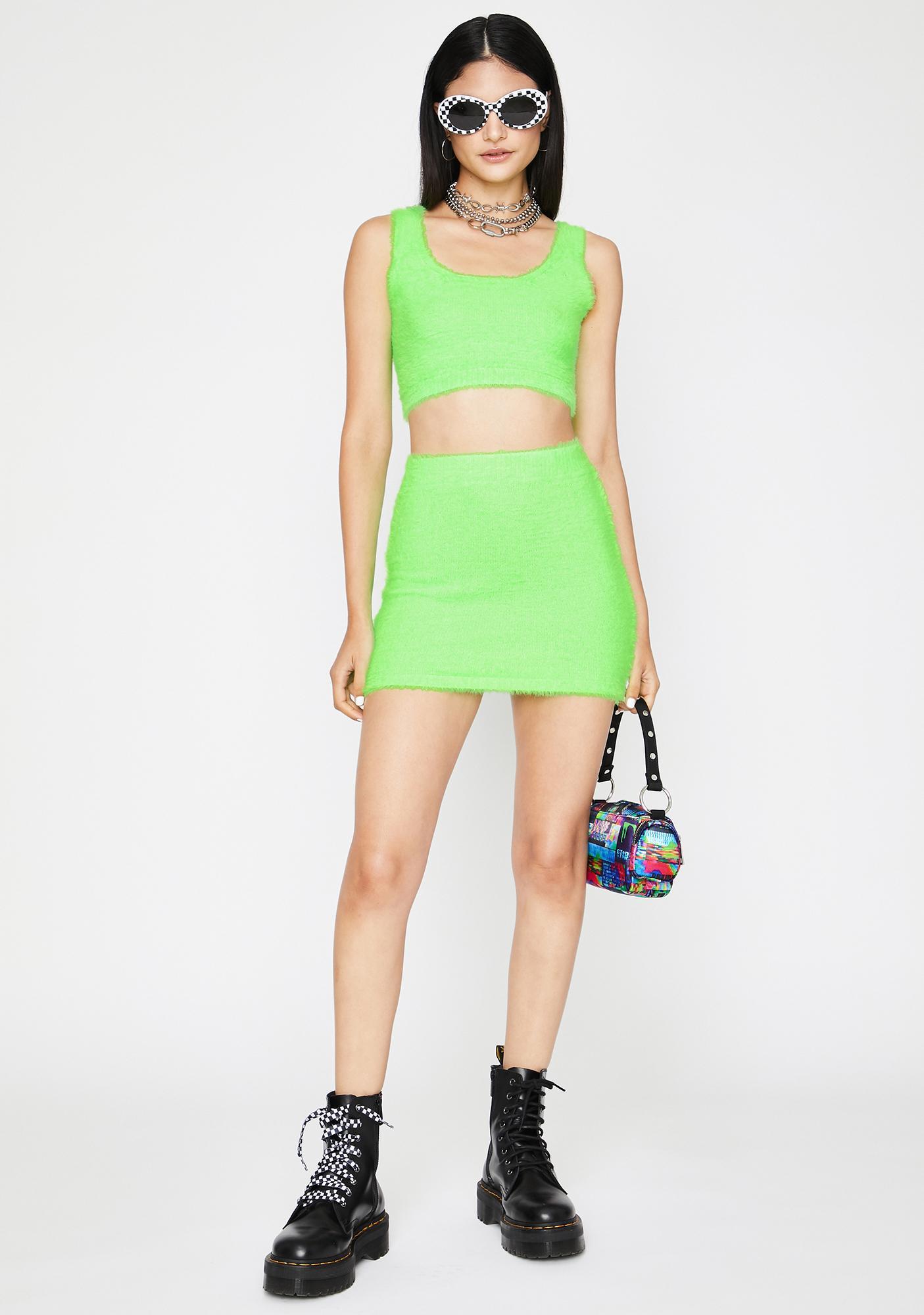 Soft Power Skirt Set
