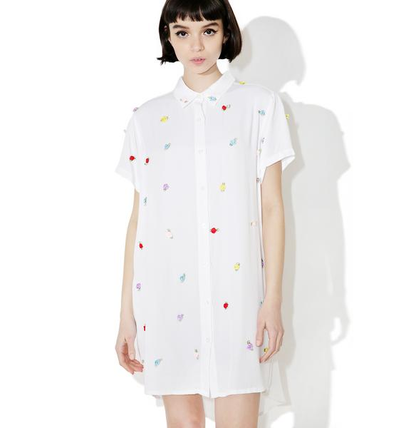Lazy Oaf Rose Bud Shirt