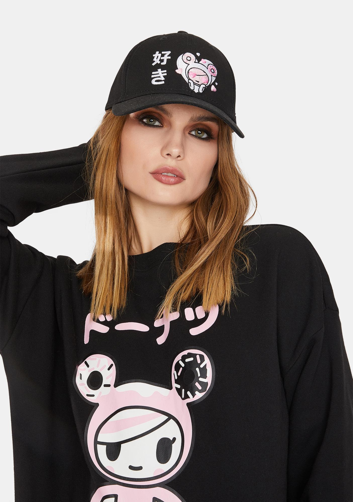 Tokidoki Sugar Love Snapback Hat