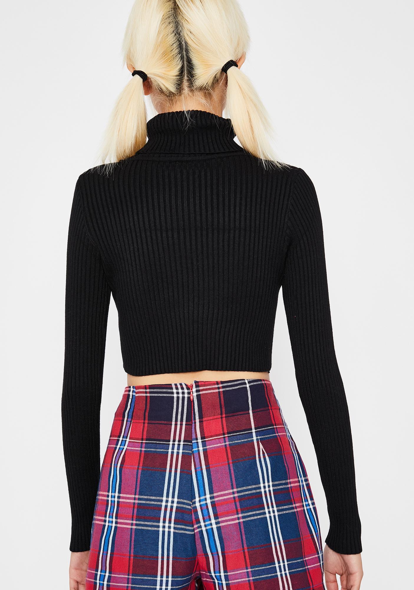 Babe Basicz Cropped Sweater