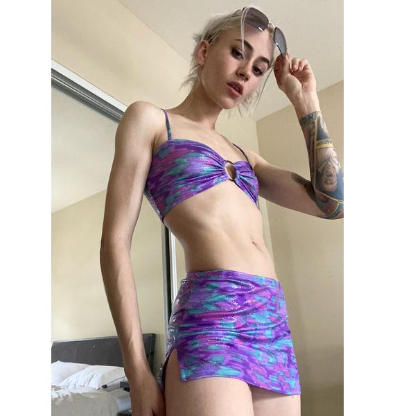 Sea Trash The Hotel Mini Skirt