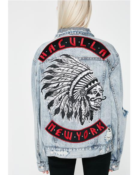 Mad Max Denim Jacket