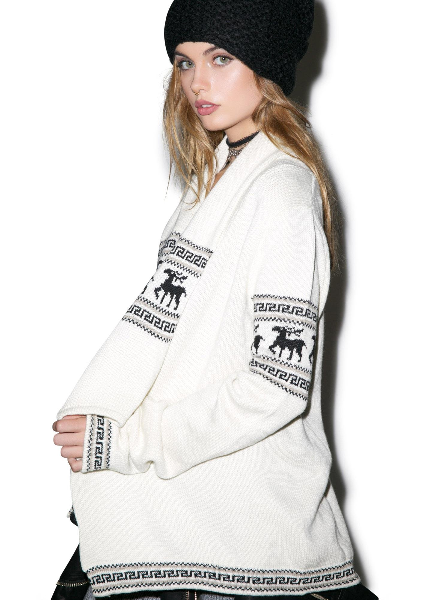For Love & Lemons Alpine Cardigan
