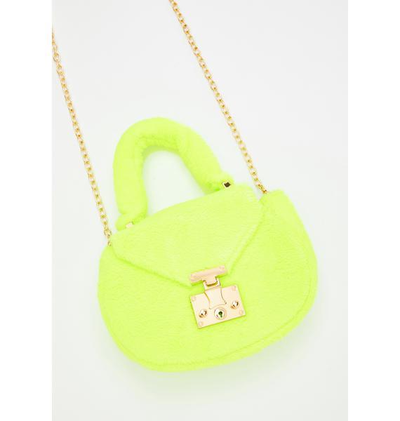Shock Prissy N' Purrty Furry Handbag