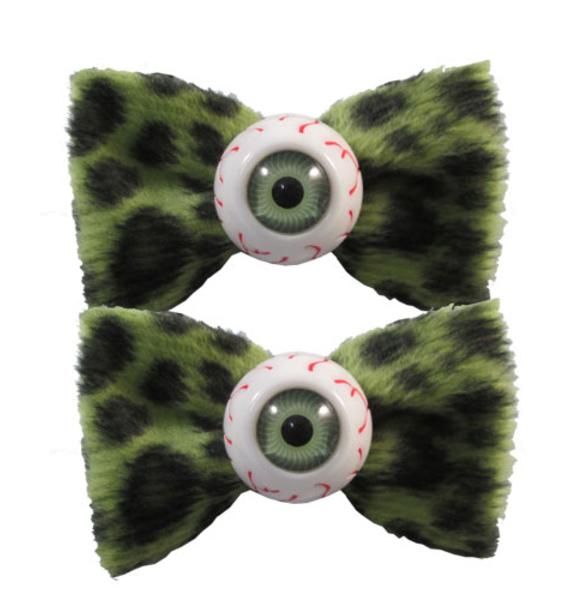 Kreepsville 666 Eyeball Hairbow Slides