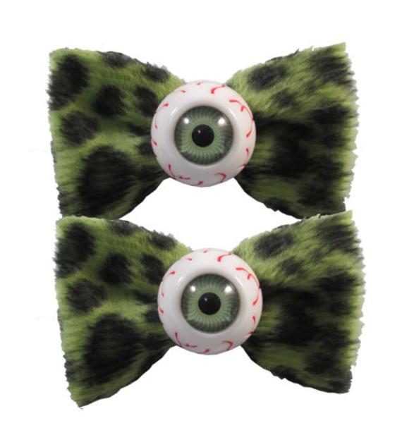 Kreepsville 666 Eyeball Hairbow Slides