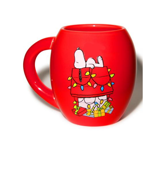 Peanuts Holiday Ceramic Mug