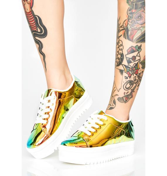 Light Chemistry Platform Sneakers