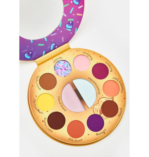 Spoiled Lips Cosmetics Donut Shoppe Eyeshadow Palette