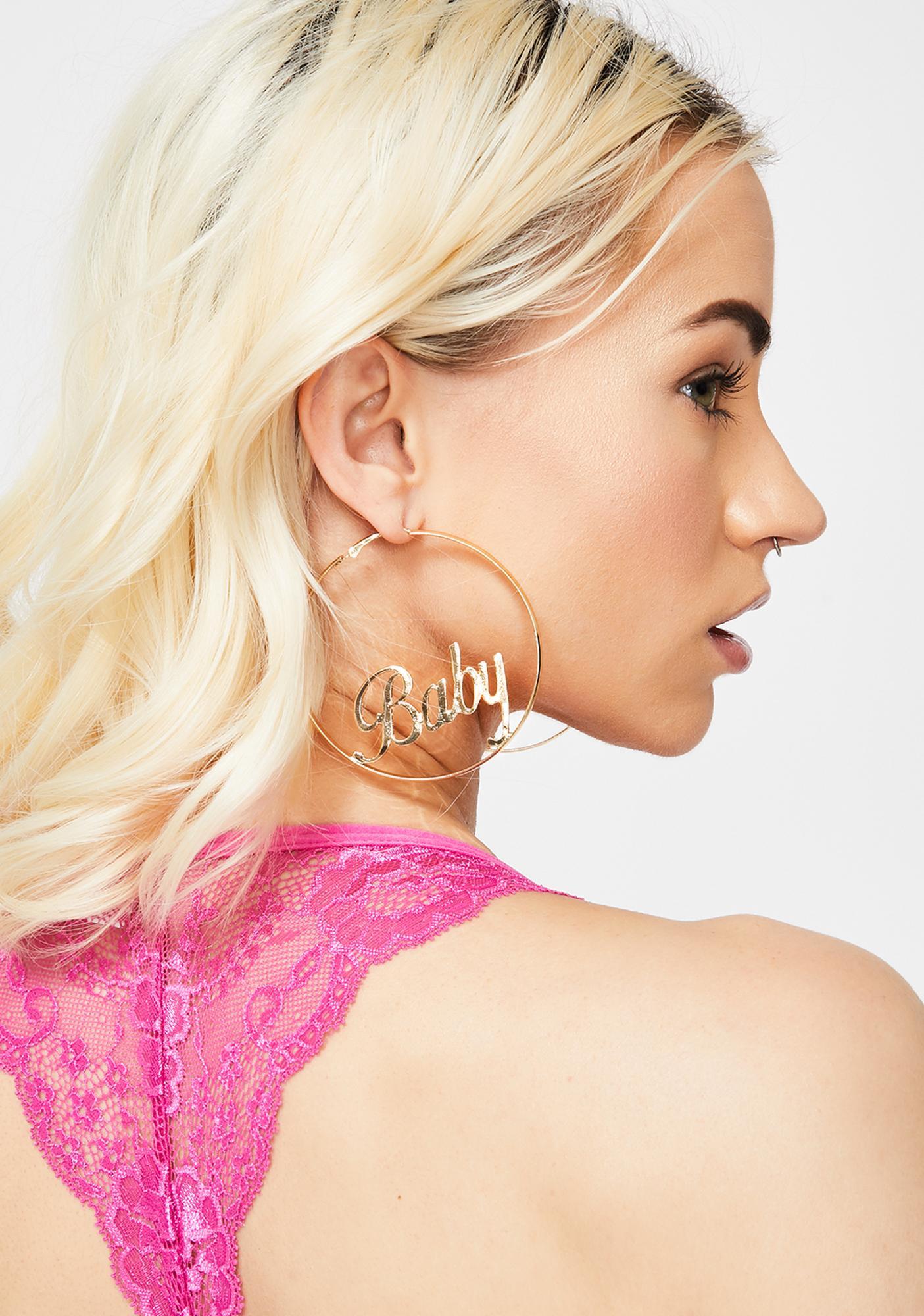 Always Be Yours Hoop Earrings
