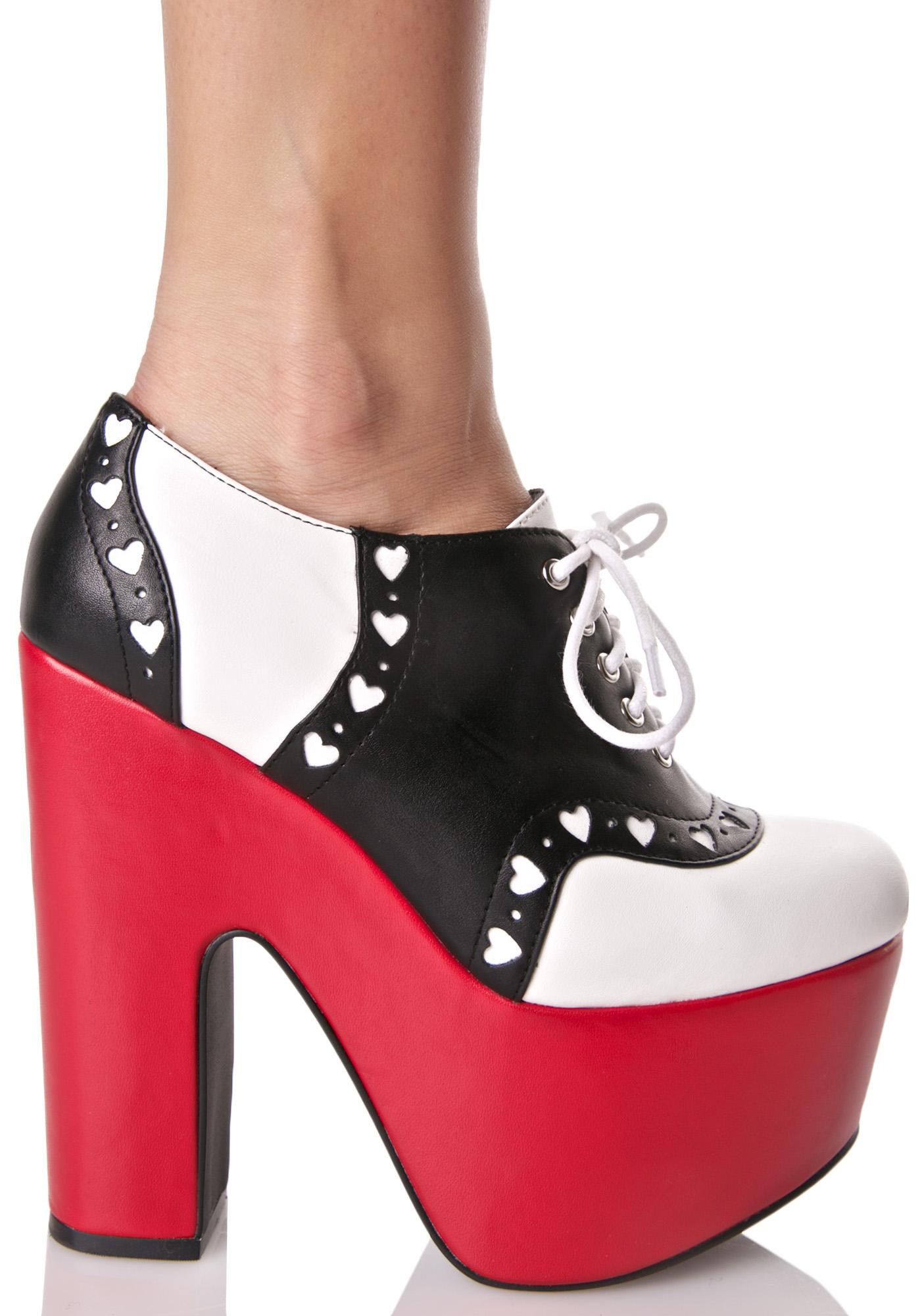 Sugar Thrillz Bettysue Platforms
