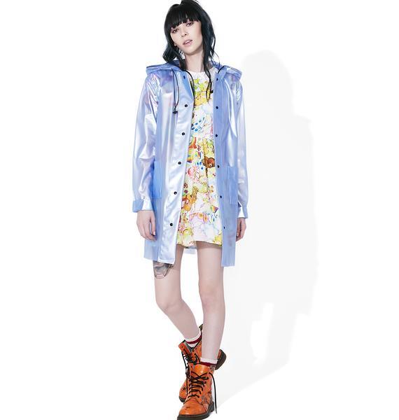 Glamorous Metallic Long Jacket