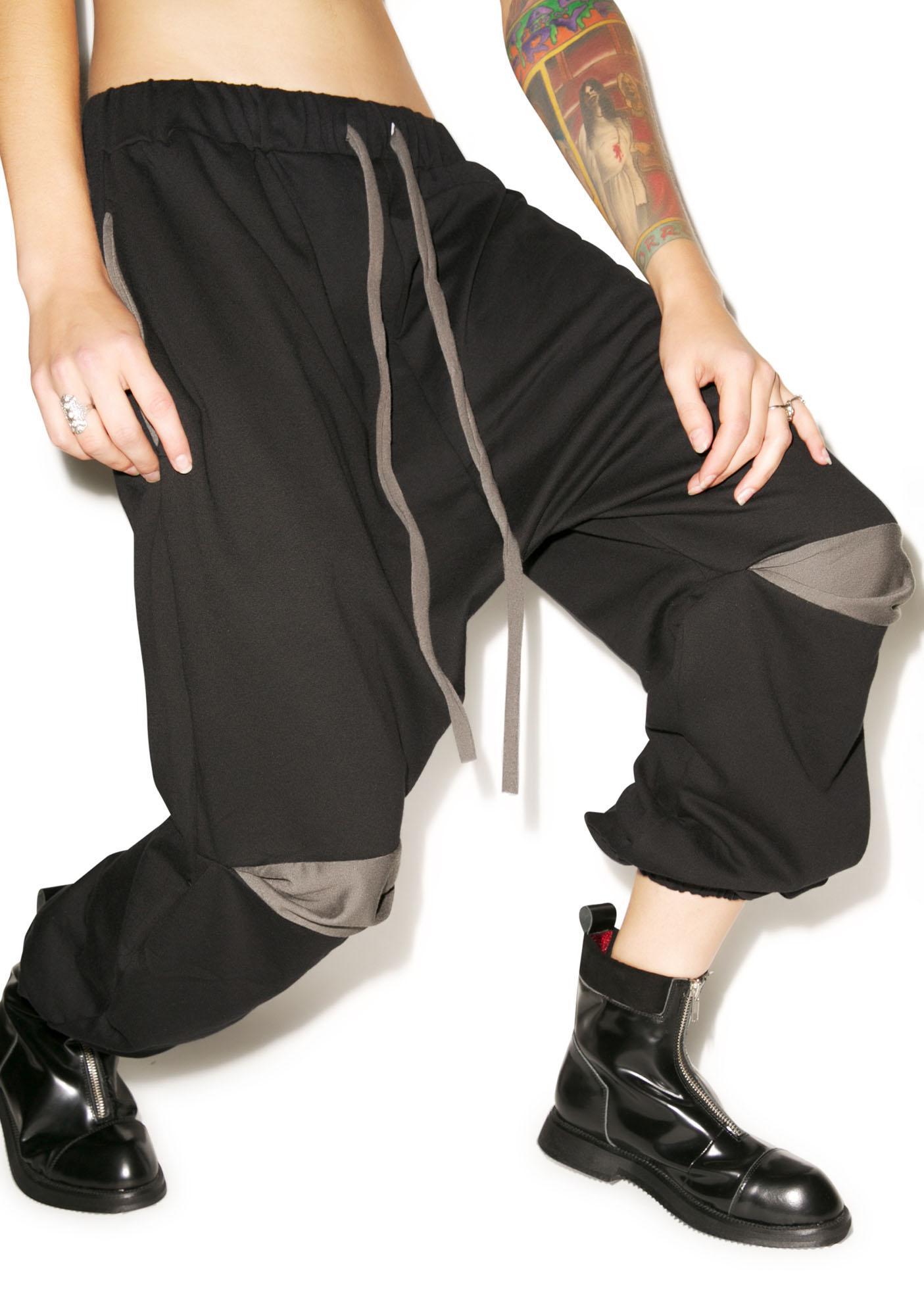 MNML Smoke Drop Crotch Pants