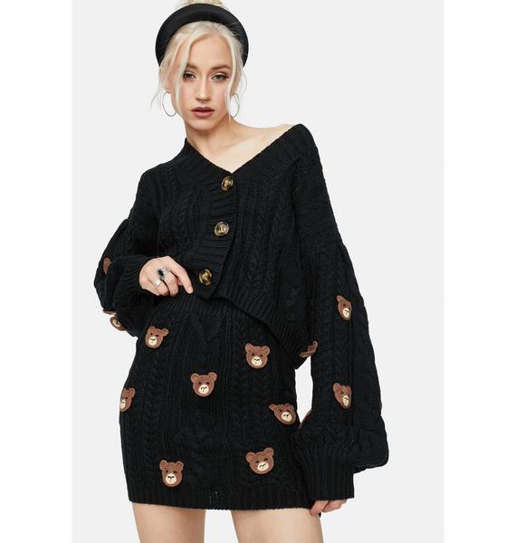 Teddy Time Knit Cardigan