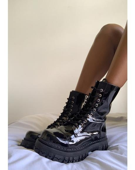 Rev It Up Combat Boots