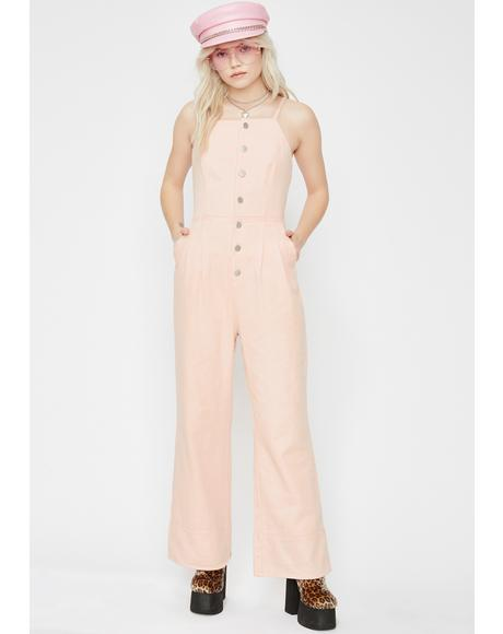 Dream Lova Denim Jumpsuit