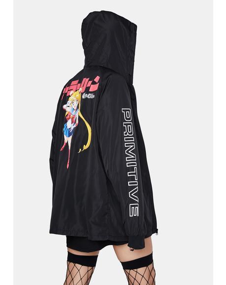 Sailor Moon Guardian Hooded Windbreaker