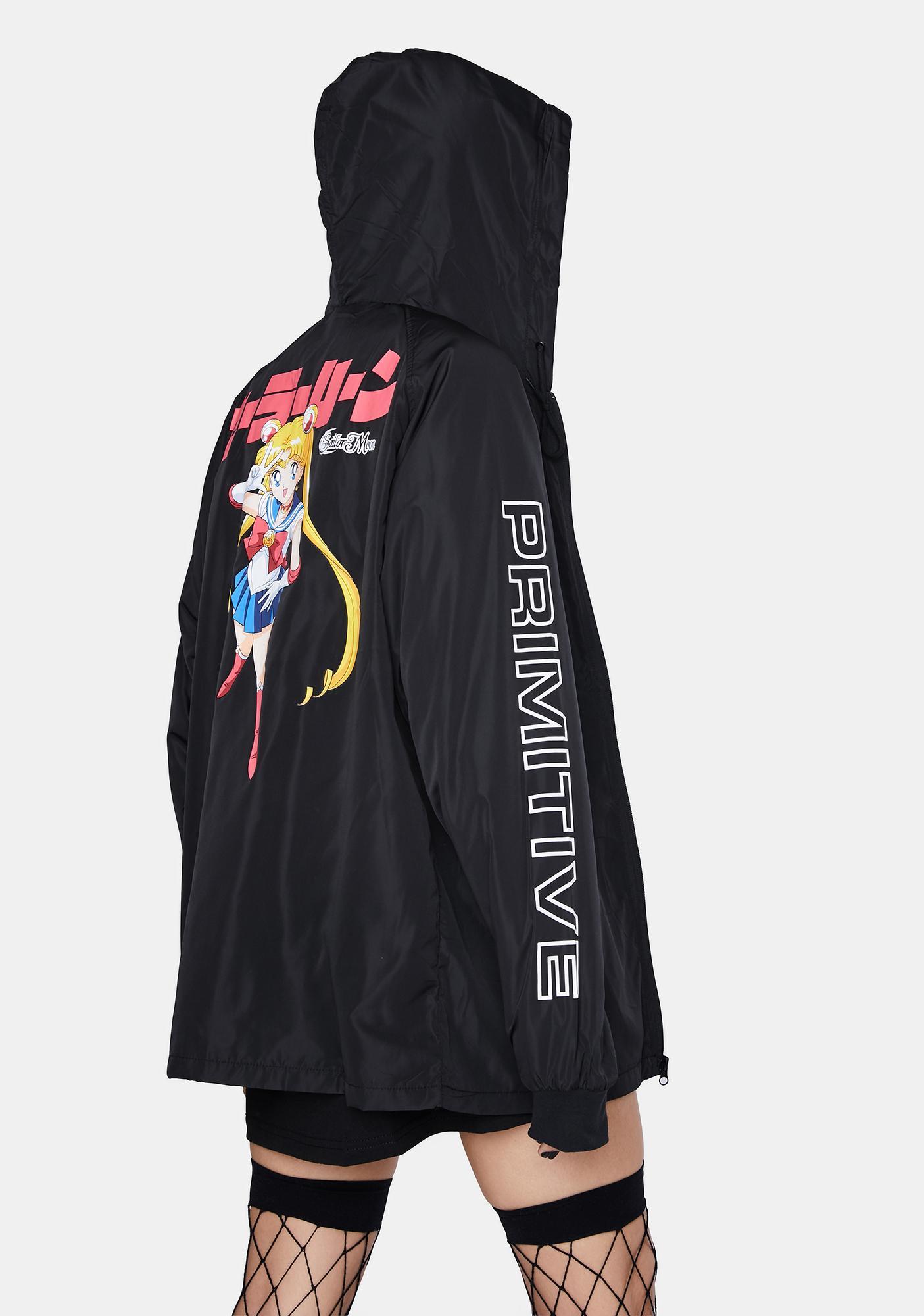 Primitive Company Sailor Moon Guardian Hooded Windbreaker