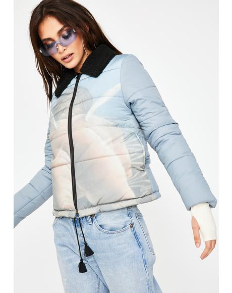 Cupid Bottom Puffer Jacket