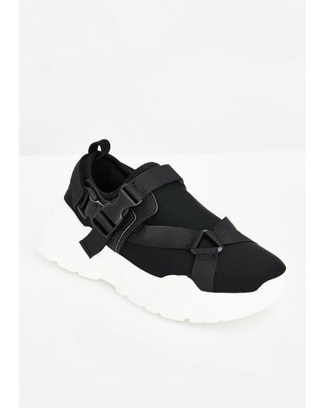 Buckled Down Chunky Sneakers