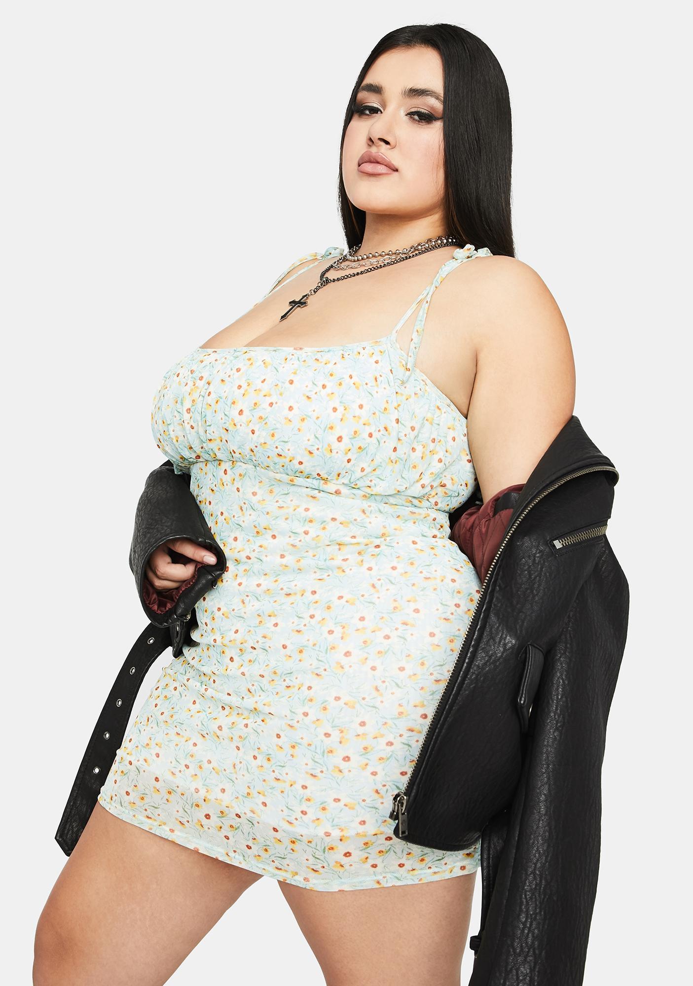 She's In Need Of TLC Mini Dress