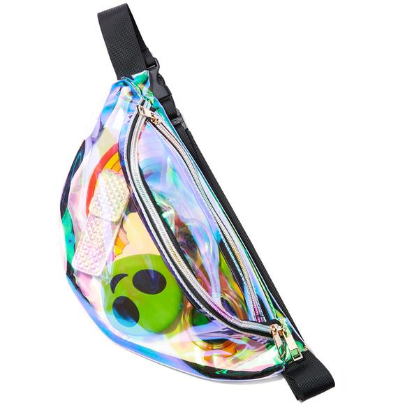 Another Dimension Iridescent Fanny Pack