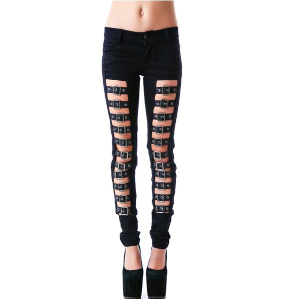 Tripp NYC Buckle Up Jeans