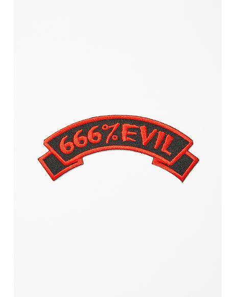 666 Evil Patch