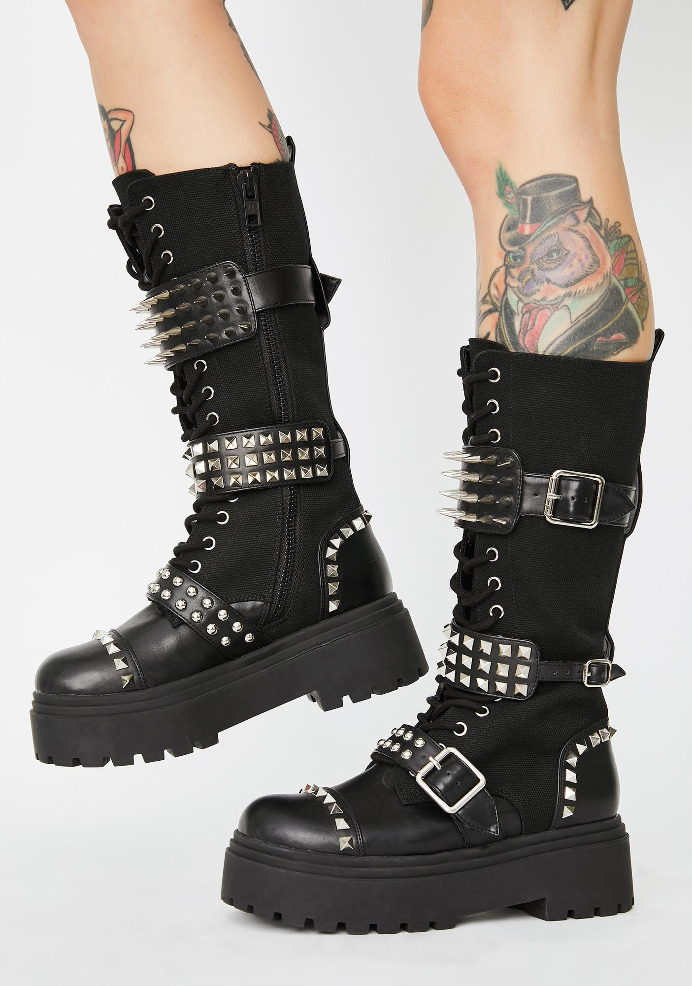 Current Mood Fully Loaded Combat Boots