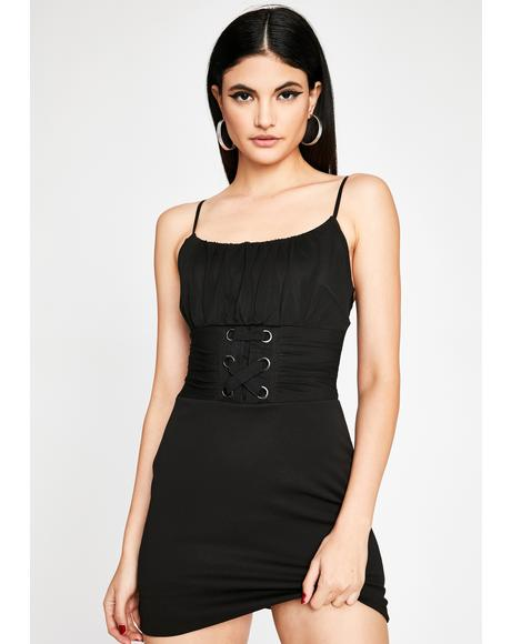 Playin' For Keeps Mini Dress