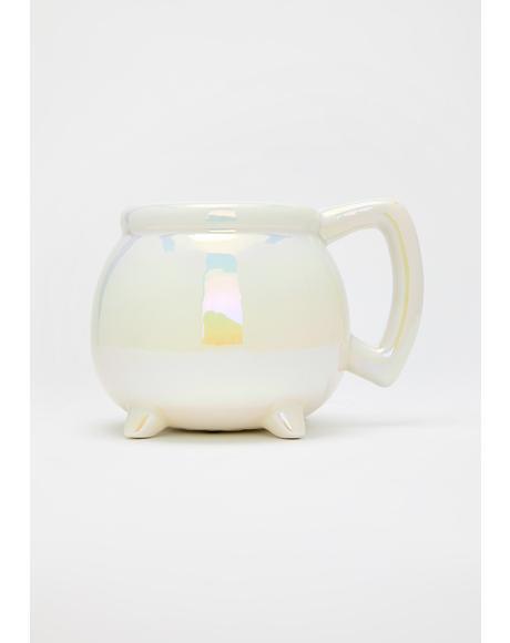 White Aura Wicca Mug